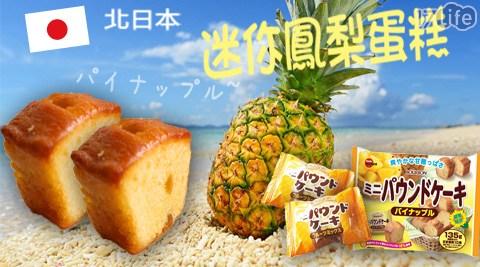 【BOURBON北日本】迷你鳳梨蛋糕
