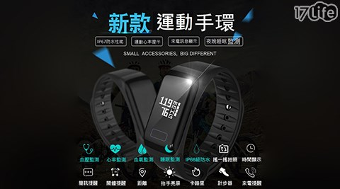 大字體螢幕運動手環