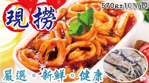 台灣現撈船凍XL特大透抽570g
