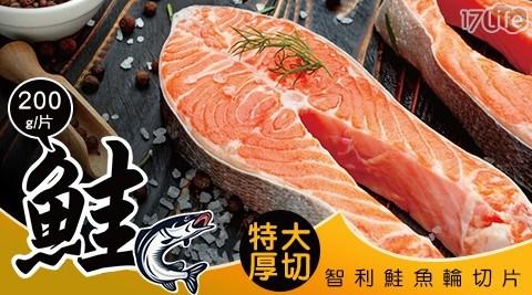 特大厚切智利鮭魚輪切片(200g/片)