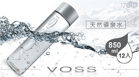 VOSS/礦泉水/飲用水/水/瓶裝水/愛馬仕/挪威/芙絲/天然礦泉水