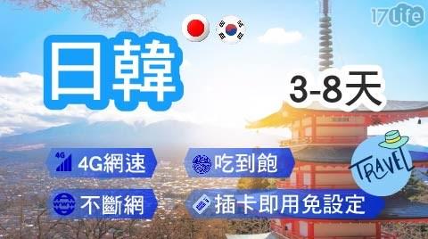 日本/韓國/上網卡/漫遊/漫遊卡/出國/3G卡/4G卡