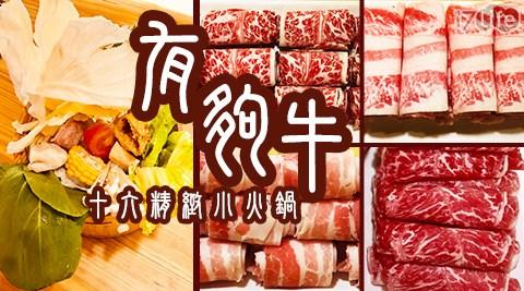 有夠牛/十六精緻小火鍋/台北店/火鍋/鍋物/牛肉/肉食/牛嫂/溫體牛/牛/聚會/聚餐/午餐/晚餐/南京三民