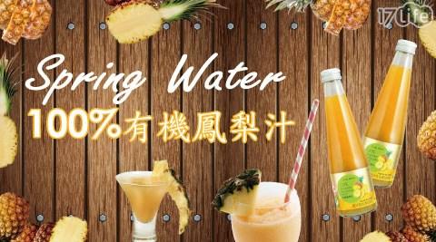 【康健生機】100%有機金鑽鳳梨汁