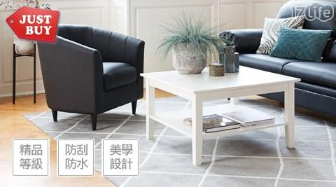 咖啡桌/大茶几/茶几/桌子/茶桌/歐式純白/客廳書桌/置物/桌