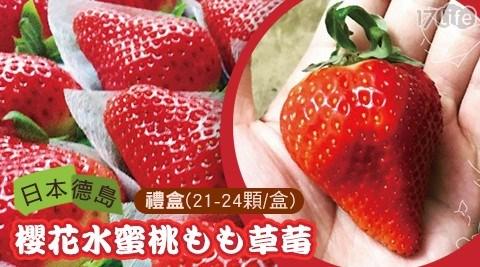 獨家優惠!日本櫻花水蜜桃もも草莓禮盒
