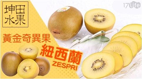 【坤田水果】紐西蘭黃金奇異果