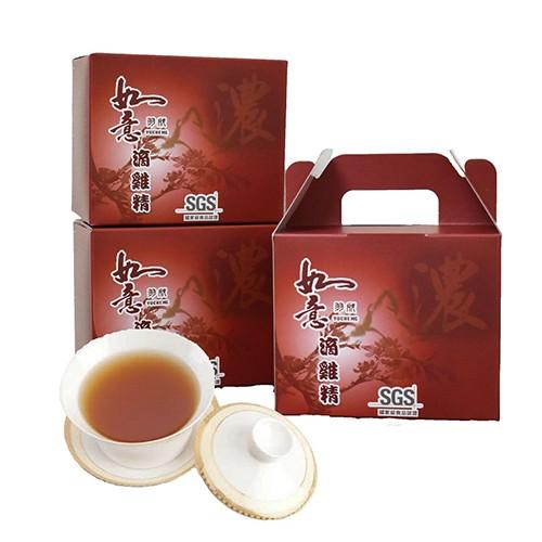 【如意】烏骨雞滴雞精(10包/盒)-6盒[加贈虱目魚精30包] 共 90包/組