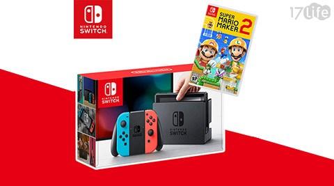 Switch/遊戲主機/家用主機/瑪利歐/瑪利歐創作家/多人連線