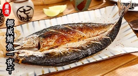 挪威薄鹽鯖魚一夜干/日式/居酒屋/燒烤/下酒菜/宵夜/日本/家常/串燒/水產/海鮮/生鮮/食材/進口