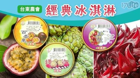 台東農會/冰淇淋/釋迦/洛神花/百香果/農會冰淇淋/農會/水果