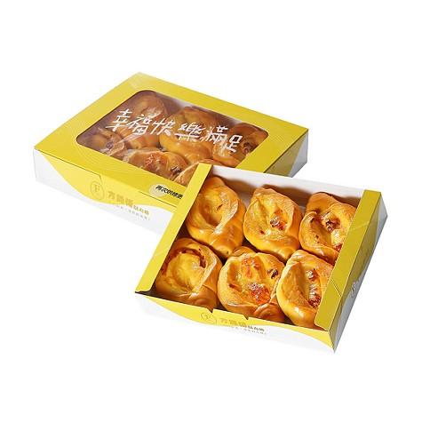 【方師傅點心坊】黃金起士小羅宋麵包6入/盒 24盒/組