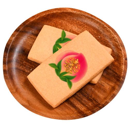 【老食說】祝壽拜拜供品壽桃彩繪牛奶餅乾(8入) 1箱/組