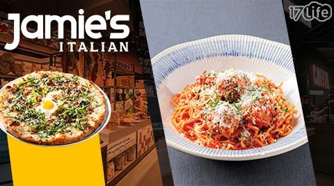 Jamie's Italian/信義/新光三越/牛肉/沙拉/起司/義大利方餃/黑松露/燉飯/甜點/#披薩/義大利麵/漢堡/義式料理