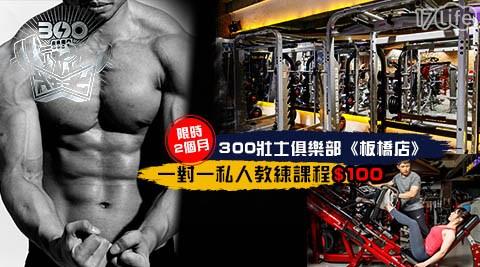 300壯士-板橋店/台北健身/台北教練課/私人教練/一對一/明星健身/瘦身