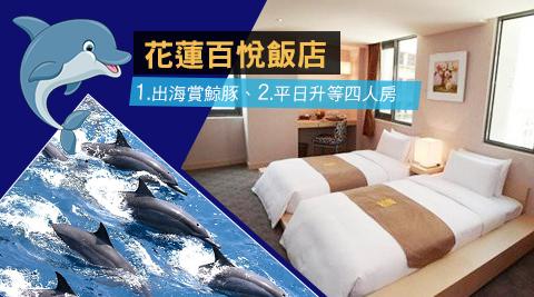 花蓮 百悅飯店/花蓮/百悅/飯店/升等/海豚/七星潭/大海