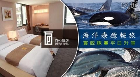 花蓮百悅飯店/花蓮/百悅/飯店/升等/海豚/七星潭/大海