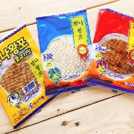 【韓國小企鵝】超人氣香烤魚片(5片/組)(原味/BBQ烤肉/香辣)
