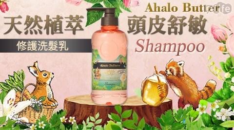 天然植萃頭皮舒敏修護洗髮精/頭皮舒敏/洗髮精/洗髮乳/髮膜/潤髮乳
