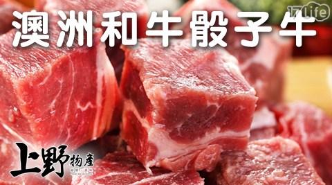 上野物產/澳洲和牛/骰子牛/和牛/澳洲牛/牛肉/生鮮/烤肉