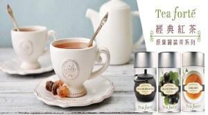 Tea forte-經典紅茶原葉罐裝茶系列任選(暖心優惠價)