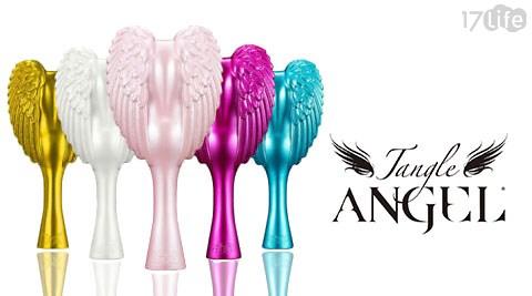 Tangle Angel/英國/天使梳/英國天使梳/18.7cm/美髮梳/美髮/秀髮/梳子/防水/經典白/雪白天使/經典黑/土耳其藍/金屬紫/寵物/寵物用品/寵物梳