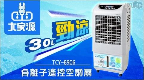 大家源/30L/30公升/負離子/遙控/空調扇/水冷扇/風扇/電扇/涼扇/電風扇